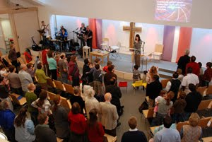 Service at Headington Baptist Church